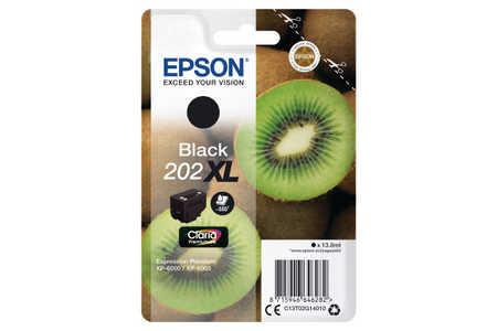Original Cartouche d'encre noire originale ID-Fabricant: No. 202XL, T02G140 Epson Expression Premium XP-6000