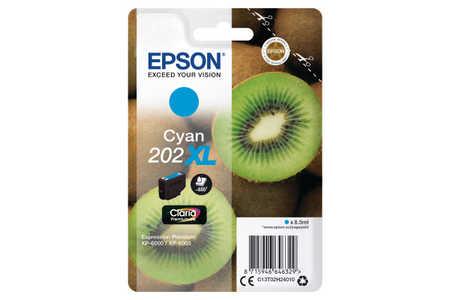 Original Cartouche d'encre cyan originale ID-Fabricant: No. 202XL, T02H240 Epson Expression Premium XP-6000