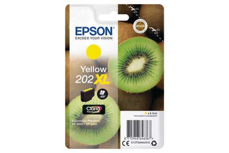 Original Cartouche d'encre jaune originale ID-Fabricant: No. 202XL, T02H440 Epson Expression Premium XP-6000