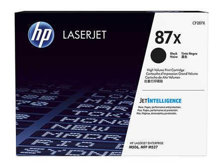Original Cartouche de toner noir originale ID-Fabricant: No. 287X, CF287X HP LaserJet Managed M 506 xm