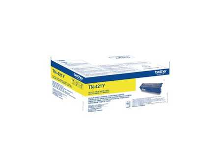 Original Cartouche de toner jaune originale ID-Fabricant: TN-421Y Brother DCPL 8410 CDW