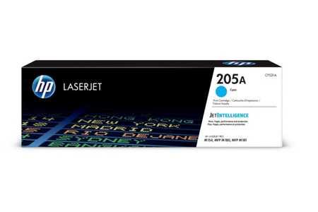 Original Cartouche de toner cyan originale ID-Fabricant: No. 205A, CF531A HP Color LaserJet Pro MFP M 181 fw