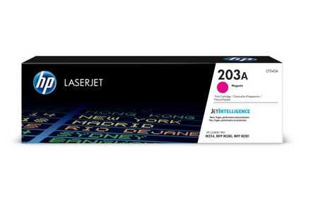 Original Cartouche de toner magenta originale ID-Fabricant: No. 203A, CF543A HP Color LaserJet Pro M 254 dw