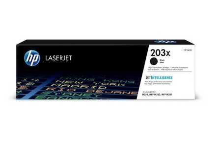 Original Cartouche de toner noir originale ID-Fabricant: No. 203X, CF540X HP Color LaserJet Pro M 254 dw