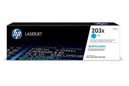 Original Cartouche de toner cyan originale ID-Fabricant: No. 203X, CF541X HP Color LaserJet Pro M 254 dw