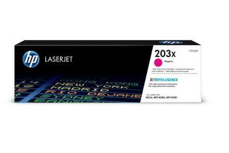 Original Cartouche de toner magenta originale ID-Fabricant: No. 203X, CF543X HP Color LaserJet Pro M 254 dw