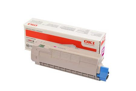 Original Cartouche de toner magenta originale ID-Fabricant: 46507506 OKI C 612 N