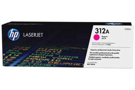 Original Cartouche de toner magenta originale ID-Fabricant: No. 312A, CF383A HP Color LaserJet Pro MFP M 476 dw