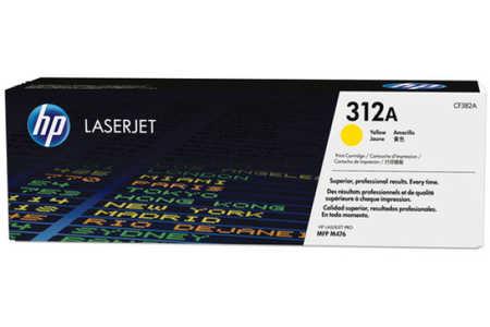 Original Cartouche de toner jaune originale ID-Fabricant: No. 312A, CF382A HP Color LaserJet Pro MFP M 476 dw