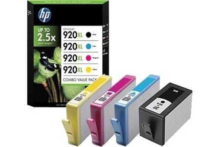 Original  Ink Combopack CMYBK ID-Fabricant: No. 920XL, C2N92AE HP OfficeJet 6500 Wireless