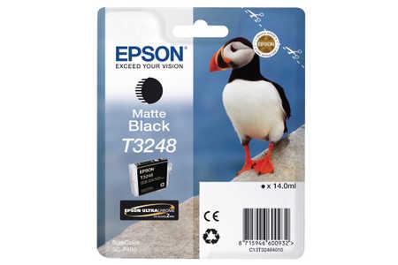 Original Cartouche d'encre noire mate originale ID-Fabricant: T324840 Epson SureColor SCP 400