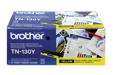 Original Cartouche de toner jaune originale ID-Fabricant: TN-130Y Brother HL-4040 CN
