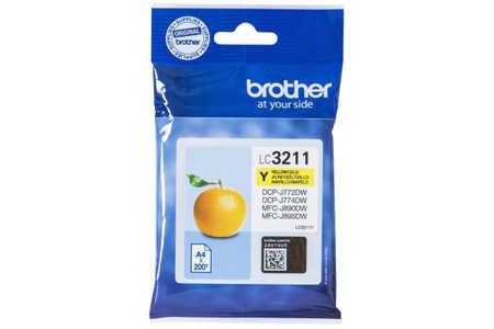 Original Cartouche d'encre jaune originale ID-Fabricant: LC-3211Y Brother MFCJ 491 DW