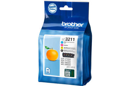 Original e Multipack cartouches d'encre ID-Fabricant: LC-3211VALDR Brother MFCJ 491 DW