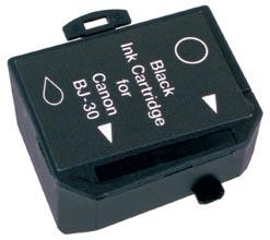 Peach 3cartouches d'encre noire  compatibles avec ID-Fabricant: BCI-10 bk Canon BJC 80