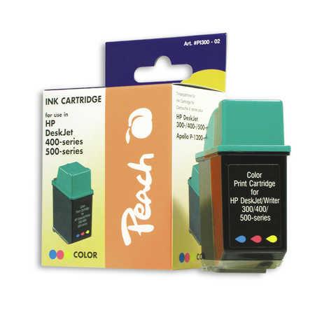 Peach Tête d'impression  couleur, compatible avec ID-Fabricant: No. 25, 51625A HP Deskwriter C