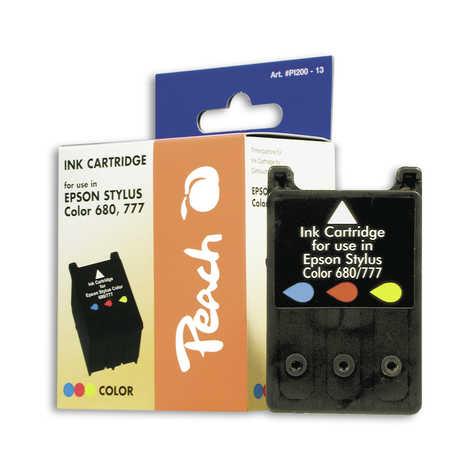 Peach Cartouche d'encre  couleur, compatible avec ID-Fabricant: T018 Epson Stylus Color 777 I