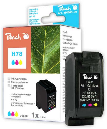 Peach Tête d'impression  couleur, compatible avec ID-Fabricant: No. 78, C6578D HP Digital Copier 310