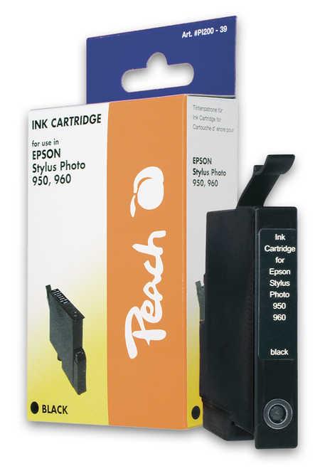 Peach Cartouche d'encre  noir, compatible avec ID-Fabricant: T0331 Epson Stylus Photo 950