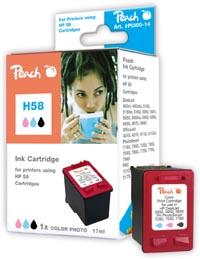 Peach Tête d'impression  photo couleur, compatible avec ID-Fabricant: No. 58, C6658A HP PSC 1310