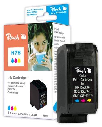 Peach Tête d'impression  couleur, haute capacité, compatible avec ID-Fabricant: No. 78, C6578A HP Digital Copier 310