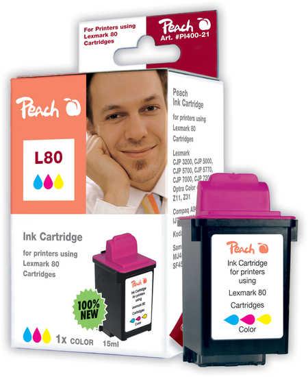 Peach Cartouche d'encre  couleur, compatible avec Samsung Smartjet Color