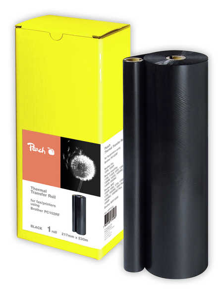 Peach  Thermal Transfer Rolls, compatible with Brother Fax 1700 P