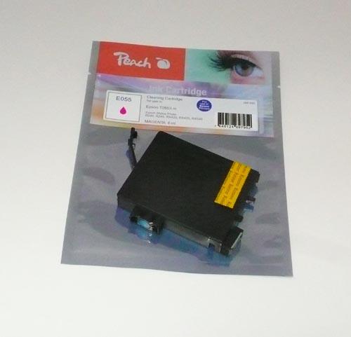 Peach Cartouche de nettoyage  magenta, compatible avec ID-Fabricant: T0553 Epson Stylus Photo RX 420