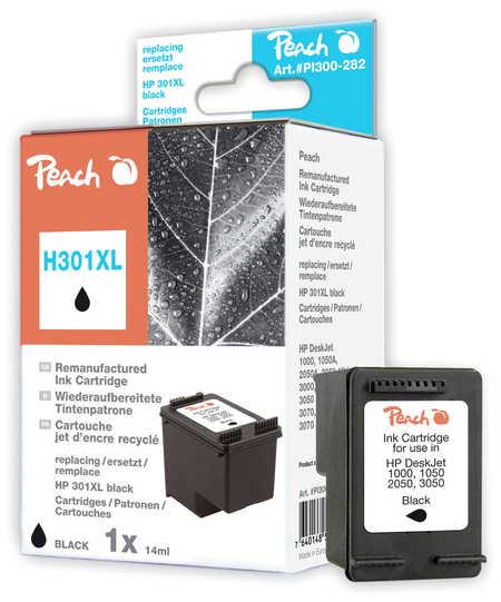 Peach Tête d'impression  noire, compatible avec ID-Fabricant: No. 301XL, CH563EE HP DeskJet 2050
