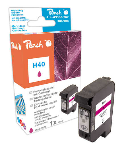 Peach Tête d'impression  magenta, compatible avec ID-Fabricant: No. 40, 51640ME HP Color Copier 210