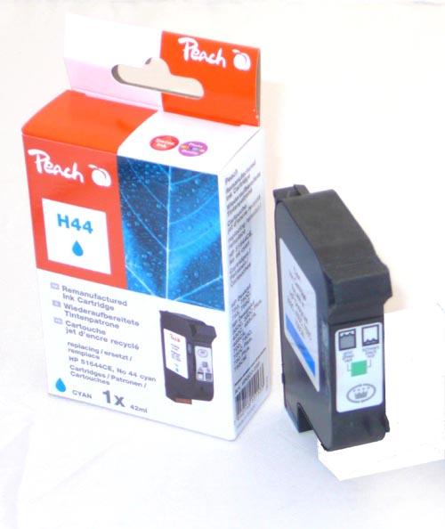 Peach Tête d'impression  cyan, compatible avec ID-Fabricant: No. 44, 51644CE HP DesignJet 350 C