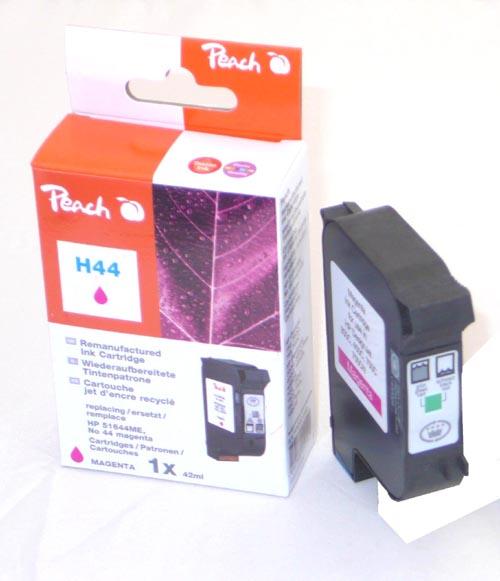 Peach Tête d'impression  magenta, compatible avec ID-Fabricant: No. 44, 51644ME HP DesignJet 350 C