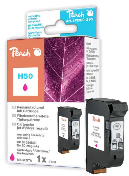Peach Tête d'impression  magenta, compatible avec ID-Fabricant: No. 50, 51650ME HP DesignJet 250 C