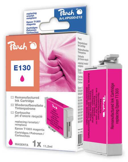 Peach Cartouche d'encre  magenta, compatible avec ID-Fabricant: T1303 Epson Stylus Office BX 625 FWD