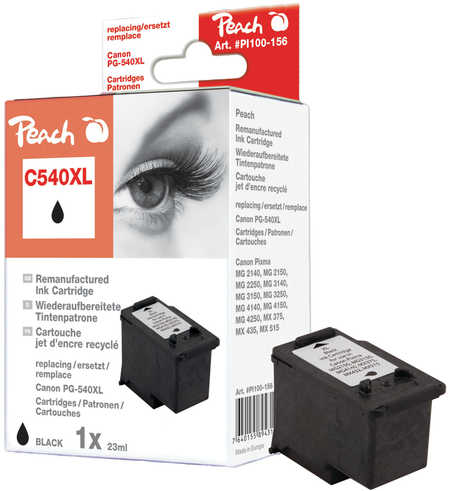Peach  Print-head XL black compatible with ID-Fabricant: PG-540XL Canon Pixma MG 2250