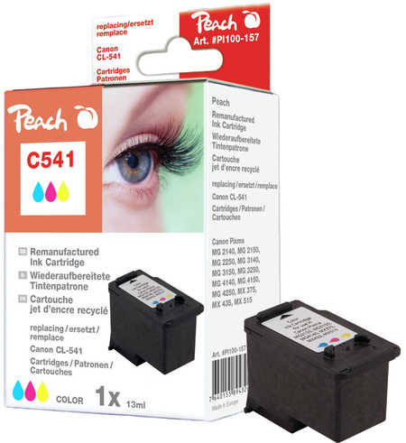 Peach  Print-head colour compatible with ID-Fabricant: CL-541 Canon Pixma MG 2250