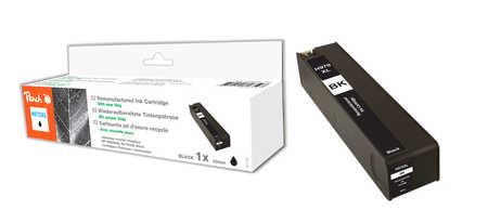 Peach  cartouche d'encre noire HC compatible avec ID-Fabricant: No. 970XL, CN625AE HP OfficeJet Pro X 451 dn