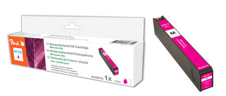 Peach  cartouche d'encre magenta HC compatible avec ID-Fabricant: No. 971XL, CN627AE HP OfficeJet Pro X 476 dn