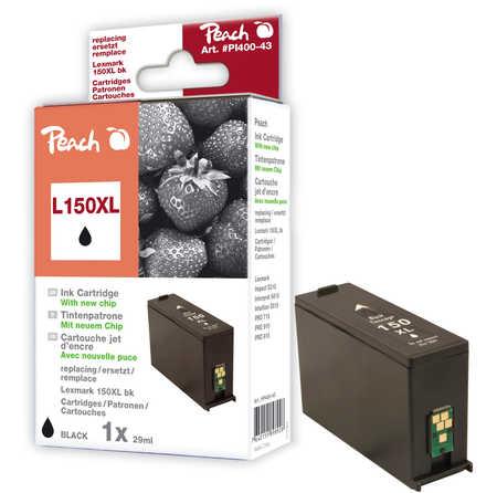 Peach Cartouche d'encre  noir XL, compatible avec ID-Fabricant: No. 150XL Lexmark Pro 910