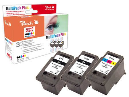 Peach  Multi Pack Plus compatible with ID-Fabricant: PG-540, CL-541 Canon Pixma MG 2250