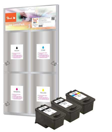 Peach  Multi Pack Plus compatible with ID-Fabricant: PG-540XL, CL-541XL Canon Pixma MG 2250