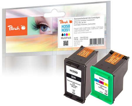 Peach  Multi Pack, compatible avec ID-Fabricant: No. 350, No. 351 HP OfficeJet J 5780