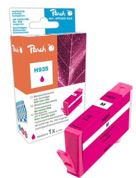 Peach  Ink Cartridge magenta compatible with ID-Fabricant: No. 935, C2P21AE HP OfficeJet Pro 6230