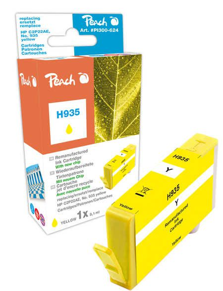 Peach  Ink Cartridge yellow compatible with ID-Fabricant: No. 935, C2P22AE HP OfficeJet Pro 6230