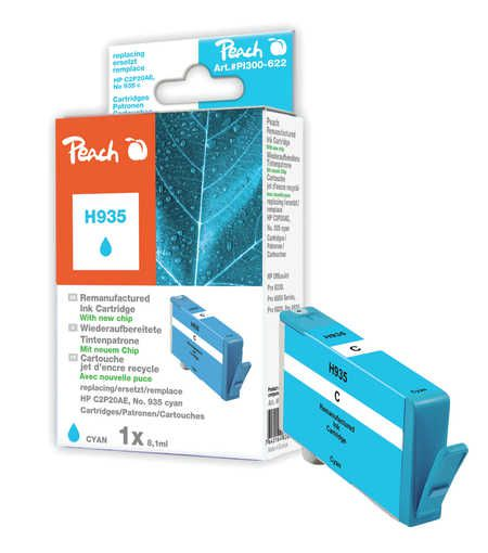 Peach  Ink Cartridge cyan compatible with ID-Fabricant: No. 935, C2P20AE HP OfficeJet Pro 6230