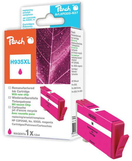 Peach  Ink Cartridge magenta HC compatible with ID-Fabricant: No. 935XL, C2P25AE HP OfficeJet Pro 6230
