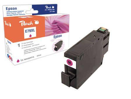 Peach Cartouche d'encre  HY magenta, compatible avec ID-Fabricant: No. 79XL, T7903 Epson WorkForce Pro WF-5110 DW