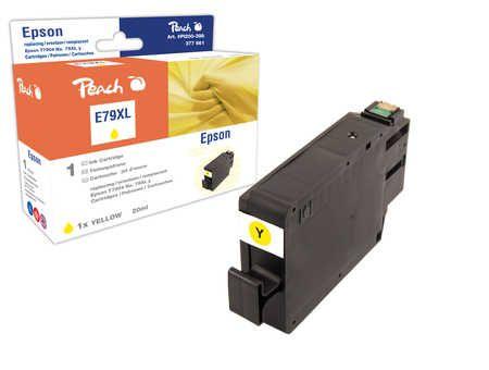 Peach Cartouche d'encre  HY jaune, compatible avec ID-Fabricant: No. 79XL, T7904 Epson WorkForce Pro WF-5110 DW