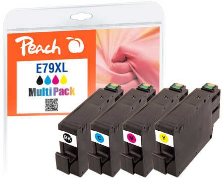 Peach  Multi Pack, HY compatible avec ID-Fabricant: No. 79XL, T7905 Epson WorkForce Pro WF-5110 DW
