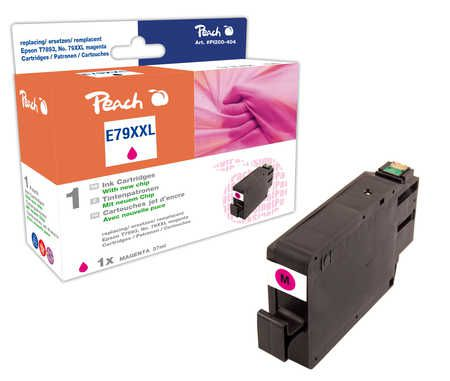 Peach  Ink Cartridge XXL magenta, compatible with ID-Fabricant: No. 79XXL, T7893 Epson WorkForce Pro WF-5110 DW